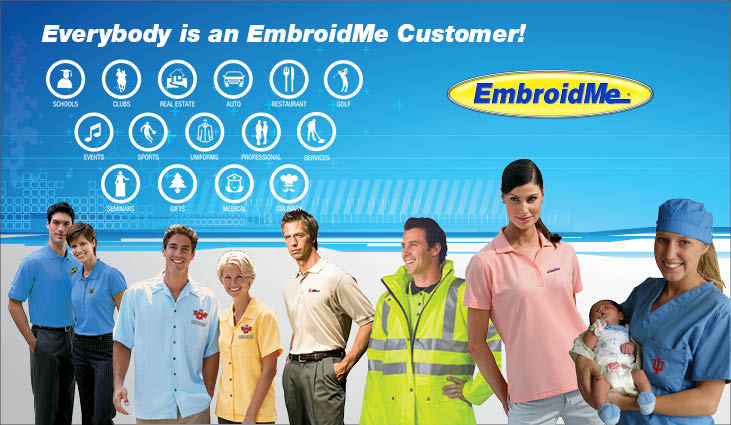 EmbroidMe Customers