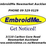 EmbroidMe Newmarket Auckland is Now Open For Business!