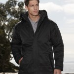 Branded winter clothing jackets for work and leisure