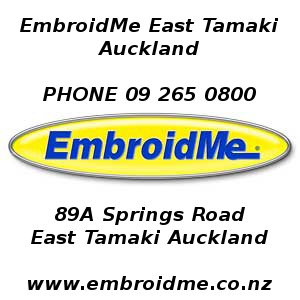 embroidery auckland