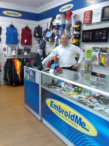 embroidme east tamaki auckland wayne strong