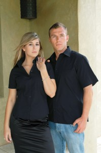 mens women shirt uniform