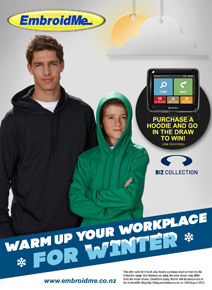 a hoodie promotion