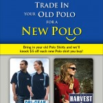 October and November Trade In Your Old Polo Shirt Promotion!