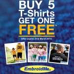 Our February and March Promotion is all about Custom T-shirts