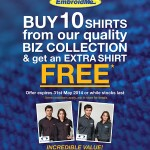 Our April and May Promotion is all about Business Shirts