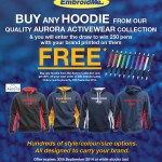 Hoodies & Branded Pens Promotion